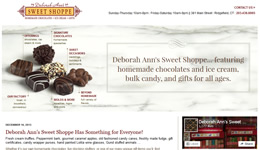 Web Design for Deborah Ann's by One Web Source
